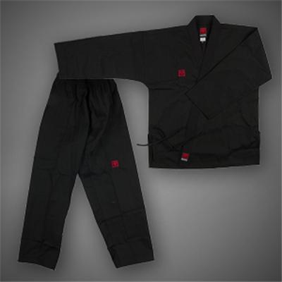 [무토]베이직4 검은색 오픈도복