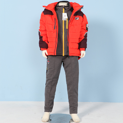 2015-FILA winter wear(상의+하의+점퍼)3pcs