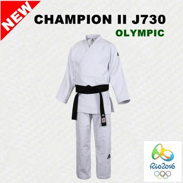아디다스 J730 챔피언2올림픽선수용유도복 백색